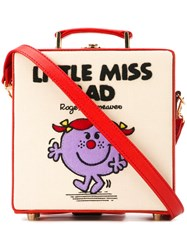 Olympia Le Tan Small Little Miss Bad Box Tote Red