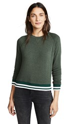 Lna Roller Coaster Sweatshirt Heather Olive