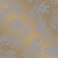 Tempaper Feathers Removable Wallpaper Multicolor