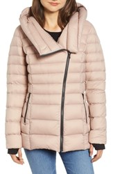 Soia And Kyo Hooded Down Puffer Jacket Quartz