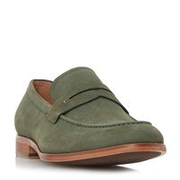 Dune Ruling Smart Penny Loafer Green