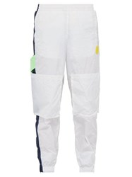 P.A.M. Space In Space Technical Track Pants White Multi