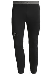 Odlo Sliq Tights Black Silver