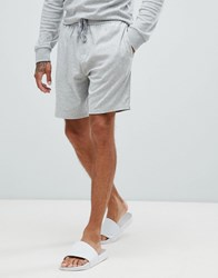Calvin Klein Lounge Shorts In Cotton Modal Grey