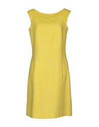 Just In Case Short Dresses Yellow