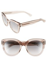 Women's Boss 52Mm Retro Sunglasses Nude