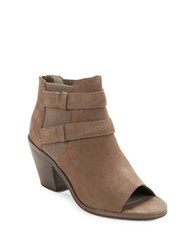 Eileen Fisher List Tumbled Nubuck Ankle Boots Dusk