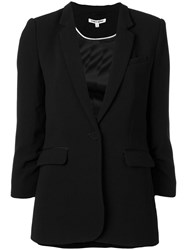 Elizabeth And James Long Blazer Black