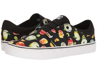 Dc Trase Sp Black Graffiti Print Skate Shoes