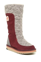 Sorel The Campus Tall Boot Red