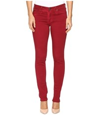 Ag Adriano Goldschmied Stilt In Sea Soaked Ruby Rouge Sea Soaked Ruby Rouge Women's Jeans Red
