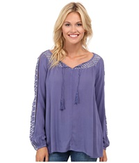 O'neill Bambi Top Fortune Teller Women's Long Sleeve Pullover Purple