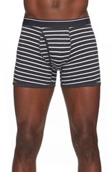 The Rail Stripe Boxer Briefs Black