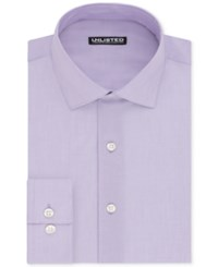 Unlisted By Kenneth Cole Men's Slim Fit Chambray Dress Shirt Light Purple