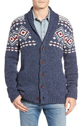 Lucky Brand Men's Lodge Lambswool Blend Cardigan