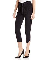 Ramy Brook Allyn Stretch Silk Cropped Pants