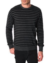 Menlook Label Seb Black Wool Blend Sweater