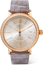 Iwc Schaffhausen Portofino Automatic 37 Alligator Rose Gold