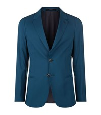 Paul Smith Cashmere Blend Deconstructed Jacket Male Green