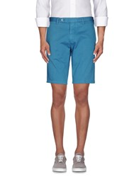 Rotasport Trousers Bermuda Shorts Men Turquoise