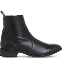 Office Ashleigh Leather Ankle Boots Black Leather