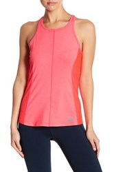 New Balance Meshed Racerback Tank Pink