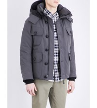 Canada Goose Selkirk Quilted Parka Graphite