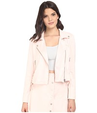 Lovers Friends Charmer Jacket Blush Women's Coat Pink