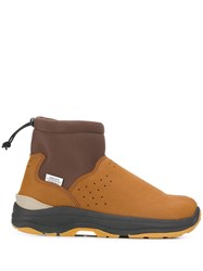 Suicoke Slip On Ankle Boots Brown