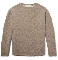 Remi Relief Melange Wool Sweater Neutral