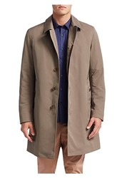Saks Fifth Avenue Collection Removable Liner Trench Coat Khaki Black
