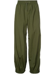 Monse Side Buttoned Trousers Green