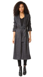 Getting Back To Square One The Wrap Coat Black