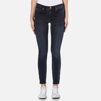 Boss Orange Women's J10 Irvine Jeans Dark Blue