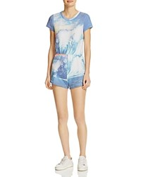 Wildfox Couture Cruiser Blue Crush Romper Multi Color