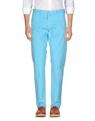 Gant Casual Pants Turquoise