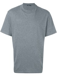 Alexander Wang T By Round Neck T Shirt Grey