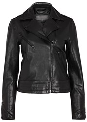 Rag And Bone Mercer Black Leather Biker Jacket