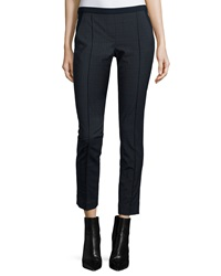 Elie Tahari Karis Slim Leg Plaid Pants