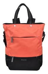 Sherpani Camden Convertible Backpack Coral Ember