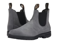 Blundstone Bl1460 Charcoal Suede Rub Work Boots Gray
