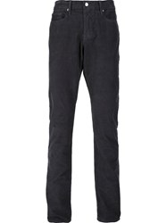 Frame Denim 'L'homme Straight Corduroy' Trousers Grey