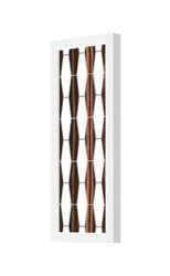 Jefdesigns Weave 1 Plank Wall Light Brown