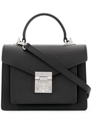 Mcm Eagle Mini Bag Black