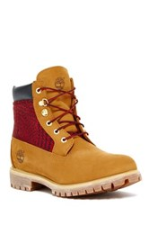 Timberland Earthkeepers Premium Plaid Boot Brown