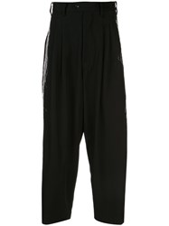 Y's Embroidered Zoot Trousers 60