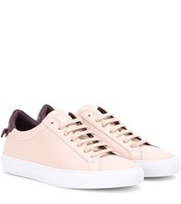 Givenchy Urban Knots Leather Sneakers Pink