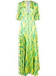 Alexis Zuella Summer Dress Green