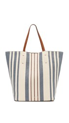 Splendid Key West Tote Blue Stripe