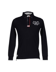 Beverly Hills Polo Club Polo Shirts Black
